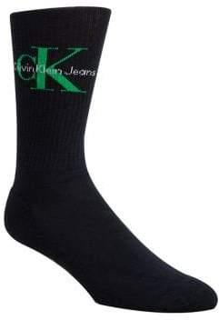 Calvin Klein Retro Rib Crew Socks
