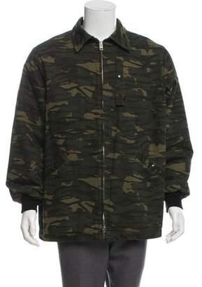 Alexander Wang Collared Camo Jacket