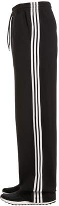 Y-3 3-Stripes Cotton Blend Wide Sweatpants