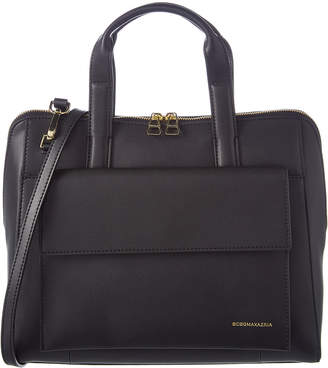 BCBGMAXAZRIA Parker Convertible Leather Tote