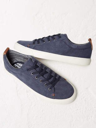White Stuff Washed Lace Up Trainer