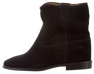Etoile Isabel Marant Suede Round-Toe Ankle Boots w/ Tags