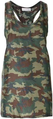 Faith Connexion camouflage tank top
