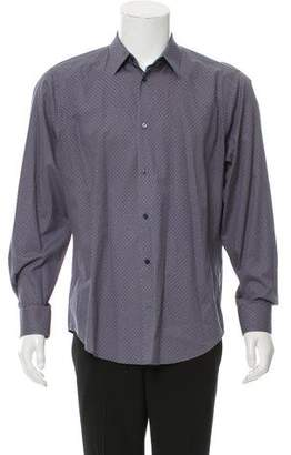 Vince Printed Button-Up Shirt