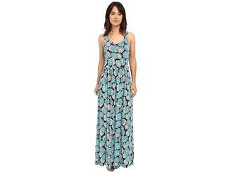 MICHAEL Michael Kors Mckenna Twist Back Maxi Women's Dress