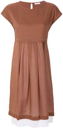 Peserico casual shortsleeveled dress