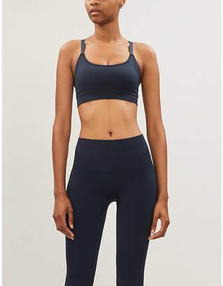 Reebok x Victoria Beckham stretch-jersey sports bra