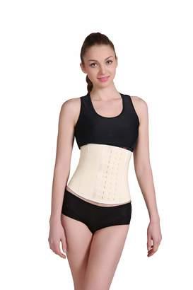 5f3a2018b19 ANN DARLING Women s Workout Short Torso Latex Waist Trainer Body Shaper