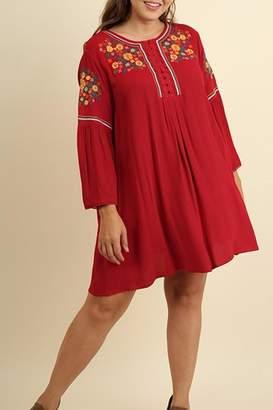 Umgee USA Red Plus Dress