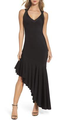 Maria Bianca Nero Tara High/Low Knit Dress