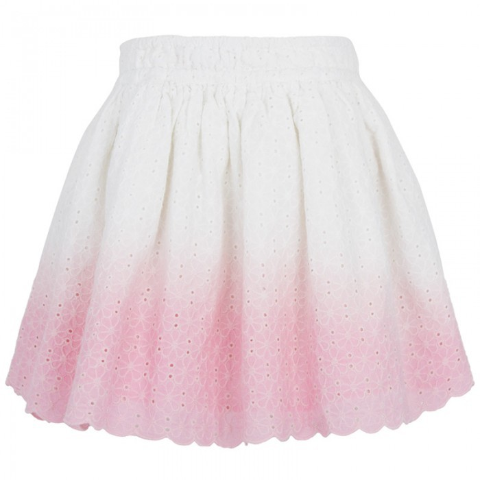 Juicy Couture Dip Dye Broderie Anglaise Skirt