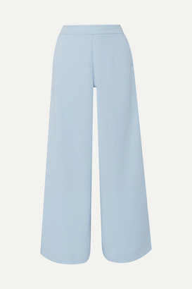 Vaara Liv Wide Striped Jersey Track Pants - Light blue