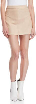 BB Dakota Amil Faux Suede Mini Skirt