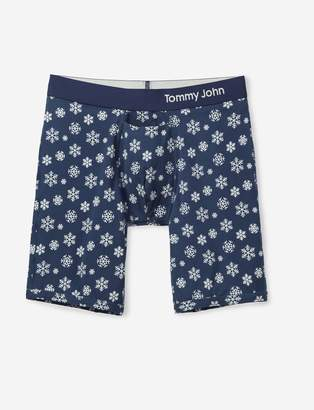 Tommy John Tommyjohn Cool Cotton Snowflake Print Boxer Brief