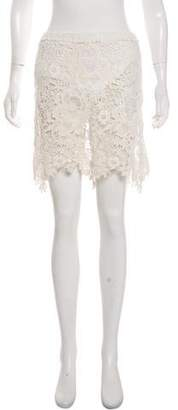 See by Chloe Lace Mini Skirt