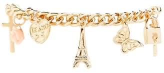 Forever 21 Paris Charm Bracelet