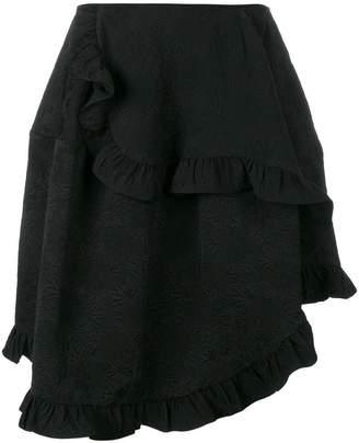 Simone Rocha asymmetric ruffle skirt