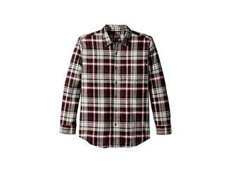 Timberland R-Value Flannel Work Shirt Men's Long Sleeve Button Up