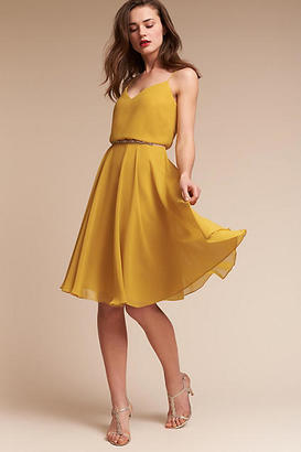 Anthropologie Sienna Wedding Guest Dress $260 thestylecure.com