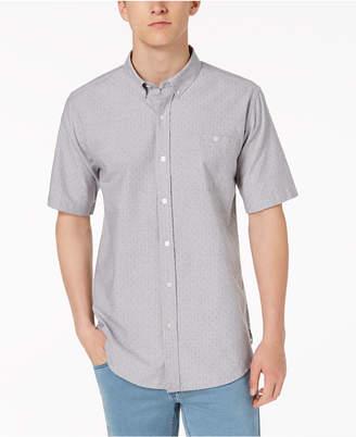 Ezekiel Men's Brad Yarn-Dyed Dot Dobby Pocket Shirt