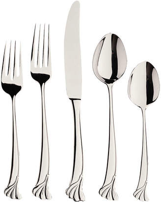 Gingko International Leaf 20-pc. 18/10 Stainless Steel Flatware Set