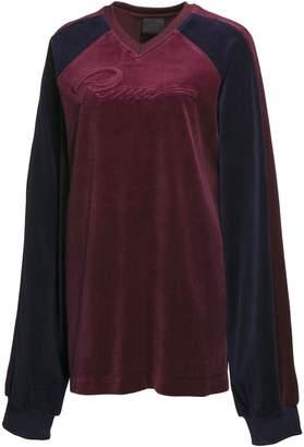 FENTY Men's Velour Oversized V-Neck Pullover
