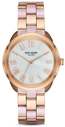 kate spade new york Crosstown Watch, 34mm $250 thestylecure.com
