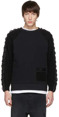 Diesel Black Cable Knit K-Corz Sweatshirt