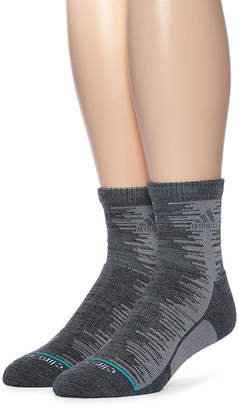 adidas Mens 2-pk. Frequency Cushioned Quarter Socks
