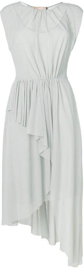 Erika Cavallini layered asymmetric dress
