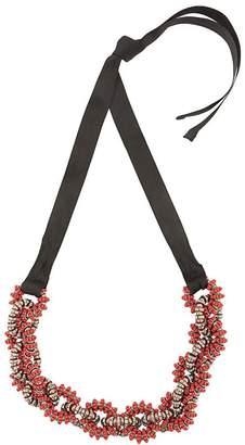 Carolina Herrera twisted beaded necklace