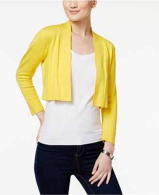 Calvin Klein Cropped Cardigan $39.98 thestylecure.com