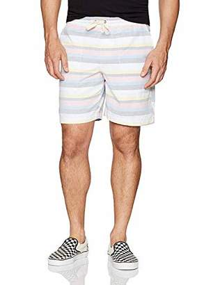 "Original Penguin Men's 8"" Horizontal Stripe Scout Short"