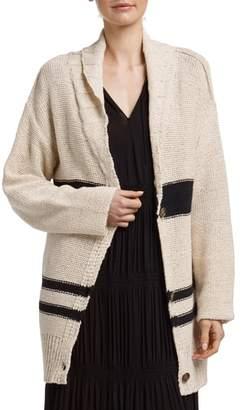 James Perse Cotton & Linen Blend Beach Sweater