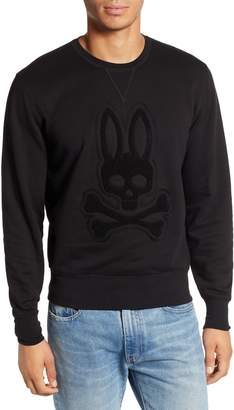 Psycho Bunny Loop Embroidered Logo Sweatshirt