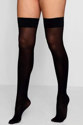 boohoo Opaque Denier Hold Up Tights