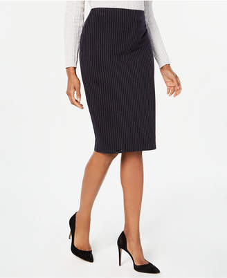 Tommy Hilfiger Printed Pencil Skirt
