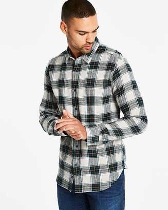 Jacamo Flannel Check L/S Shirt L