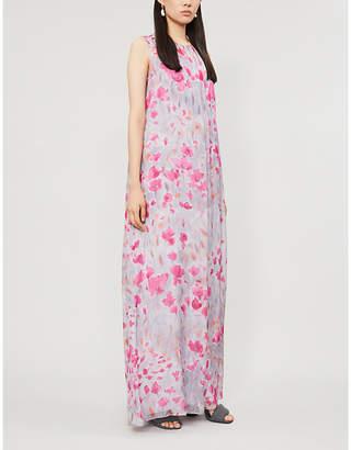 Max Mara Ghetta floral-print silk gown
