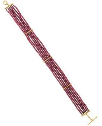 Cathy Waterman 22K Garnet Bead Necklace Red 22K Garnet Bead Necklace