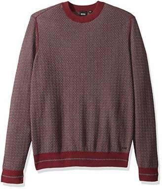 BOSS ORANGE Men's Kanadrin Cotton Wool Blend 2-Color Sweater