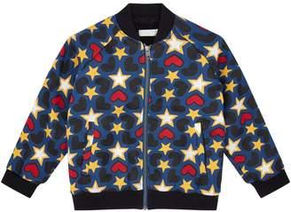 Stella McCartney Joan Star Print Bomber Jacket