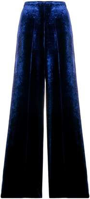 Forte Forte velvet flared trousers