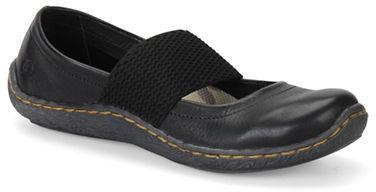 Børn Acai Mary Jane Leather Flats