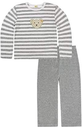 Steiff Girls 0006575 2Pcs Playsuit Striped Clothing Set,(Manufacturer Size:152)