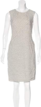 Magaschoni Stripe Pattern Sheath Dress w/ Tags