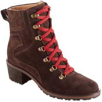 L.L. Bean L.L.Bean Women's Deerfield Alpine Boots, Lace-Up Mid