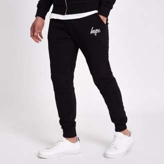 Hype black joggers