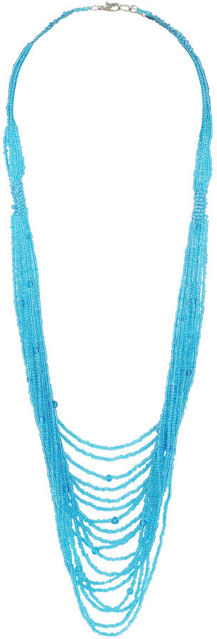 Forever 21 Beaded Masterpiece Necklace