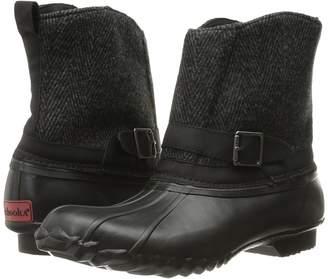 Chooka Step In Duck Boot Herringbone Women's Rain Boots